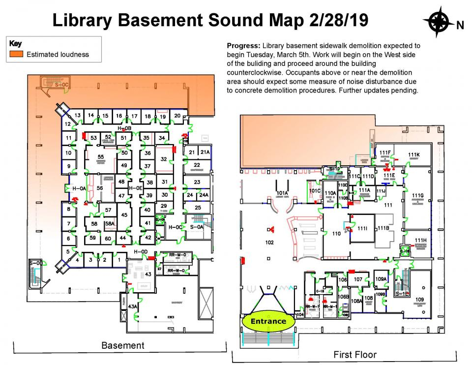 Library Construction Sound Map