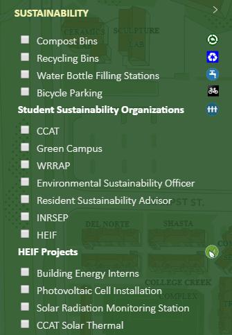 Sustainability: Maps & Tours | Facilities Management