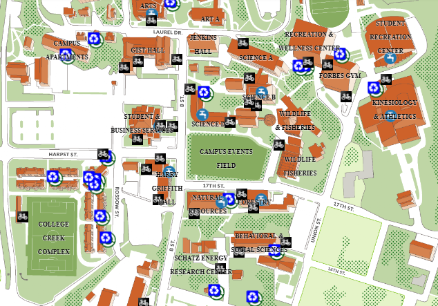 Sustainability: Maps & Tours | Facilities Management