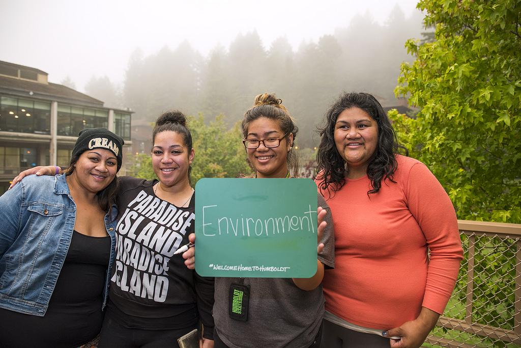Photo: Why do Humboldt State Students choose this school? Environment